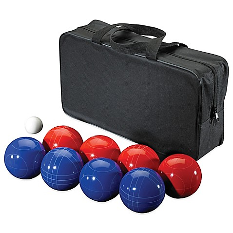 bocce ball 11 piece game set. Black Bedroom Furniture Sets. Home Design Ideas