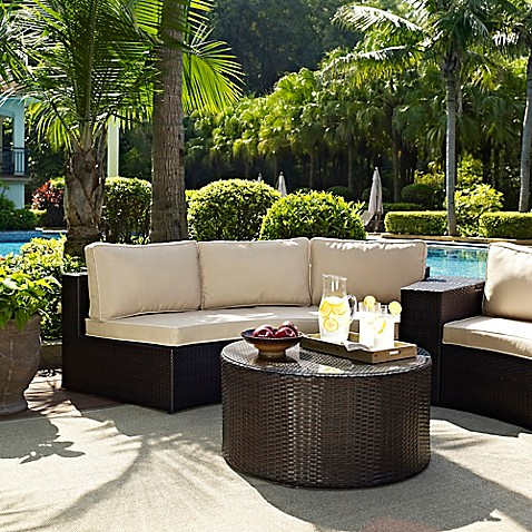 Crosley Catalina Patio Furniture Collection Bed Bath
