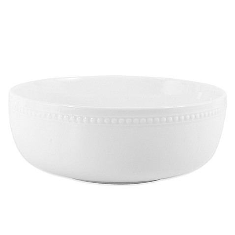 Everyday White® by Fitz and Floyd® Beaded Serving Bowl at Bed Bath & Beyond in Cypress, TX | Tuggl