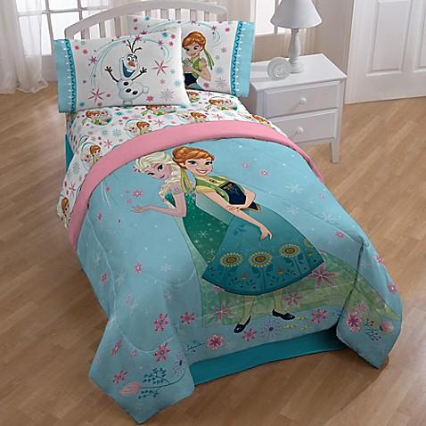 Disney frozen perfect day comforter bed bath beyond - Anna s linens bathroom accessories ...