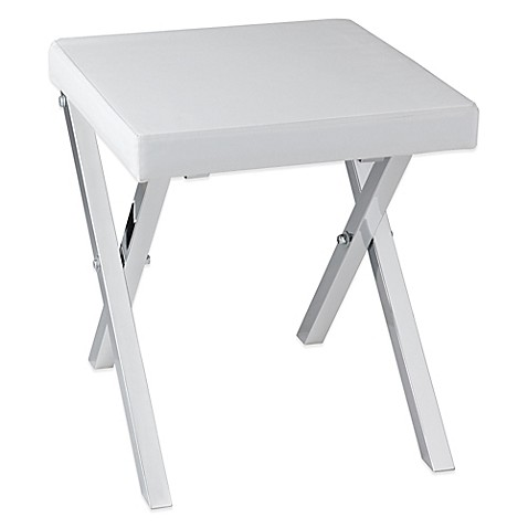 Taymor® Folding Vanity Stool at Bed Bath & Beyond in Cypress, TX | Tuggl