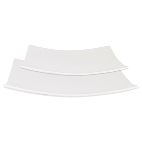 Everyday White® by Fitz and Floyd® Hard Square Dinnerware at Bed Bath & Beyond in Cypress, TX | Tuggl