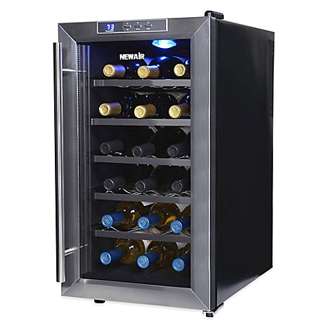Newair 18 Bottle Single Zone Thermoelectric Wine Cooler In