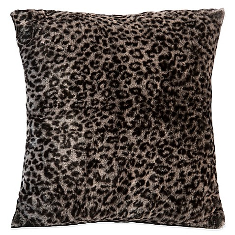 Berkshire Leopard Print Velvet Plush Throw Pillow at Bed Bath & Beyond in Cypress, TX | Tuggl