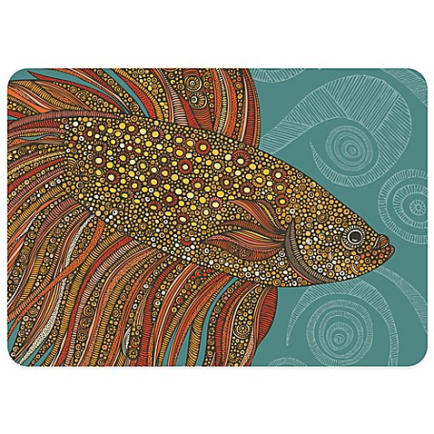 beta fish 23 inch x 36 inch decorative kitchen mat bed bath beyond