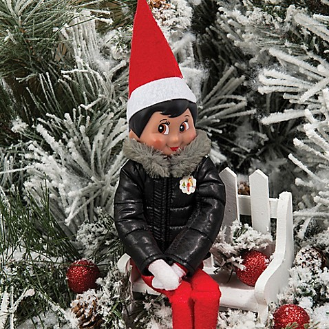 The Elf On The ShelfR Claus Couture Puffy North Pole Parka