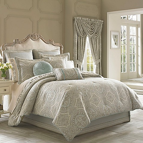 J. Queen New York™ Colette Comforter Set at Bed Bath & Beyond in Cypress, TX | Tuggl