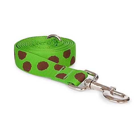 Large Green Polka Dot Dog Bed
