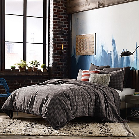 Studio 3b by kyle schuneman stellan reversible comforter for Studio one bed cover
