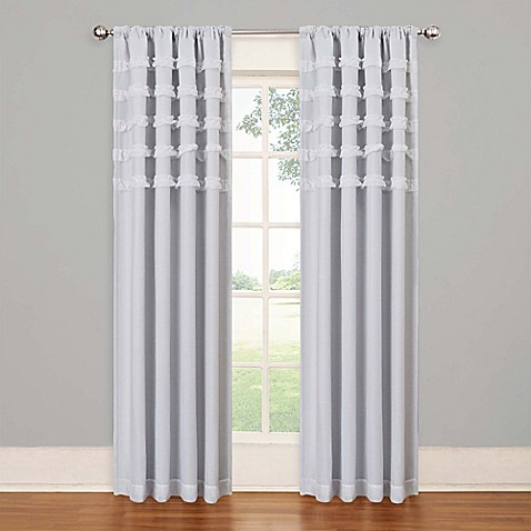 Solarshield Rihanna Rod Pocket Room Darkening Window Curtain Panel Bed Bath Beyond