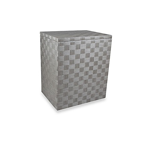 Baum Heritage Family Double Hamper In Grey Bed Bath Amp Beyond