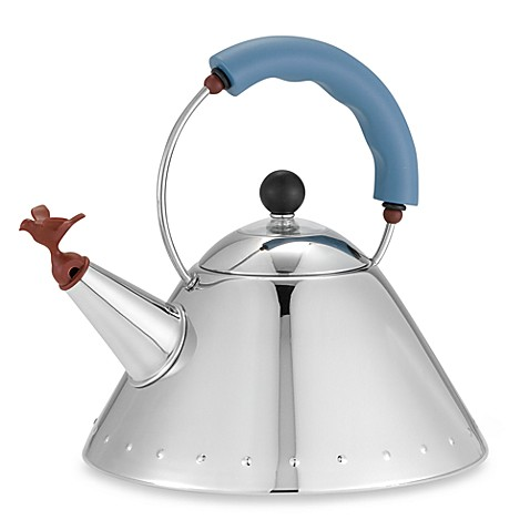Alessi Michael Graves Stainless Steel Tea Kettle Bed