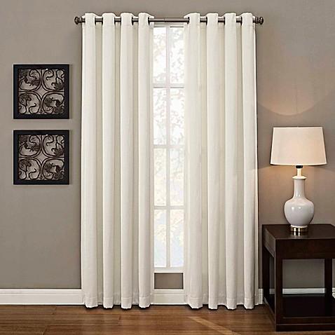 Buy Ashton Grommet 108 Inch Window Curtain Panel In White