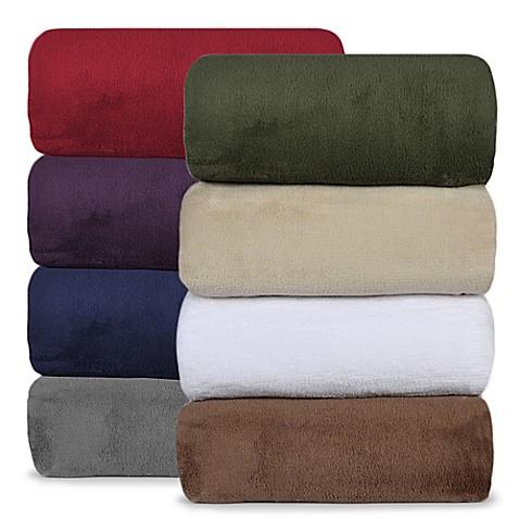 Berkshire Blanket® Serasoft® Supreme Throws at Bed Bath & Beyond in Cypress, TX | Tuggl