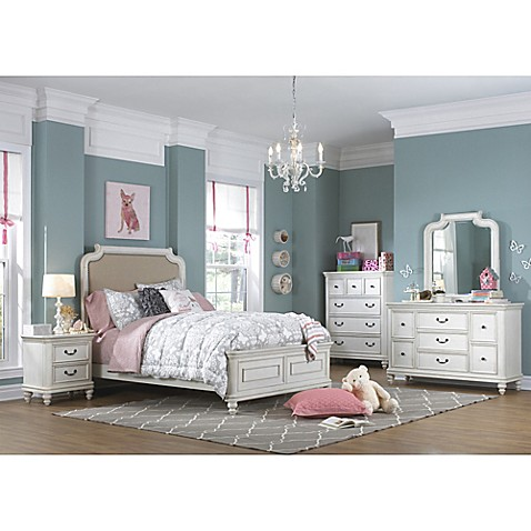 Buy Pulaski Madison 5 Piece Twin Bedroom Set In Antique