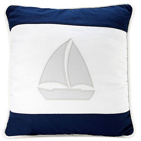 Nautica Kids 174 Mix Amp Match Sailboat Throw Pillow In Navy