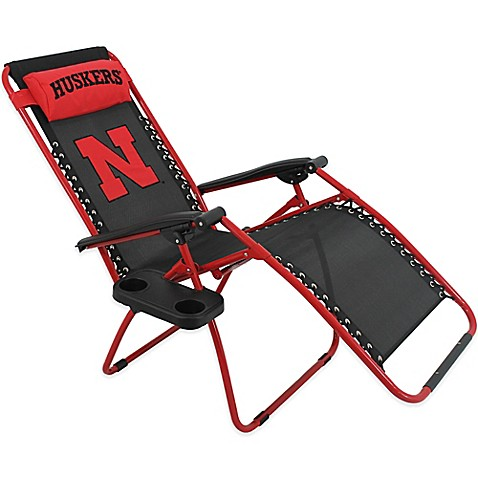University Of Nebraska Zero Gravity Chair Bed Bath Amp Beyond