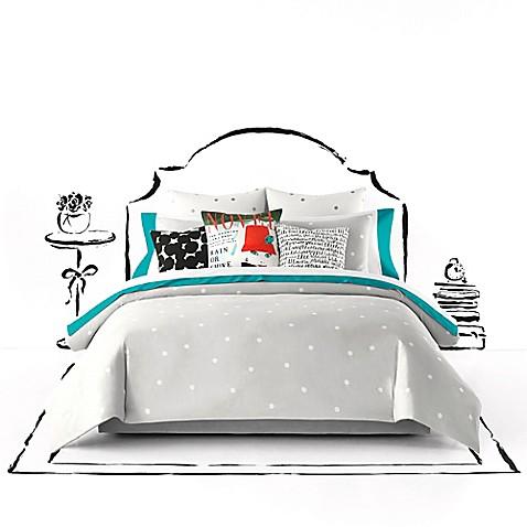 Kate Spade New York Deco Dot Comforter Set Bed Bath Amp Beyond