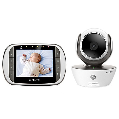 motorola mbp853connect digital video baby monitor with wi fi internet viewing buybuy baby. Black Bedroom Furniture Sets. Home Design Ideas