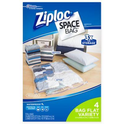 Ziploc® Space Bag® 4-Piece Flat Combo Set