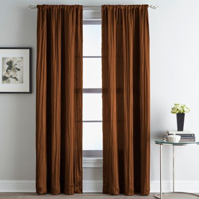Fortuna Room Darkening Rod Pocket Window Curtain Panel