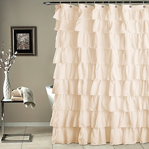 Ruffle Shower Curtain Bed Bath Amp Beyond