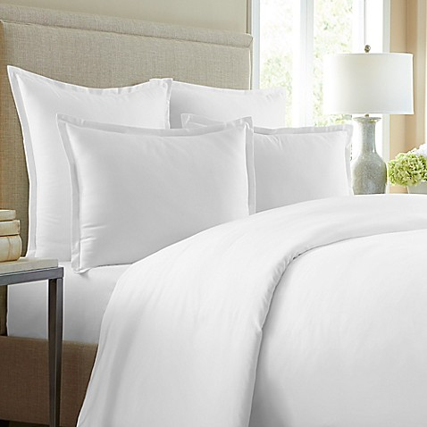 Wamsutta 174 620 Thread Count Solid Duvet Cover Bed Bath