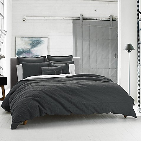Kenneth Cole Reaction Home Waffle Duvet Cover by Bed Bath And Beyond