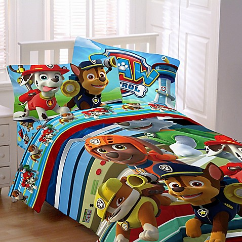 Nickelodeon Paw Patrol Bedding Collection Bed Bath Amp Beyond