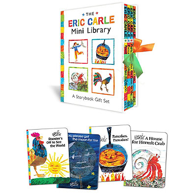 The Eric Carle Mini Library 4-Book Box Set by Eric Carle -