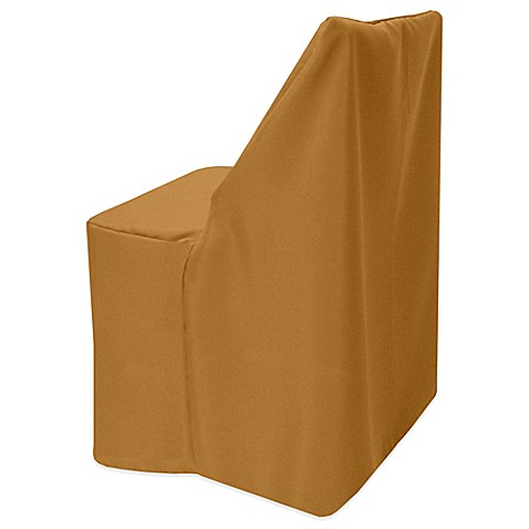 Buy Basic Polyester Cover For Wood Folding Chair In Copper