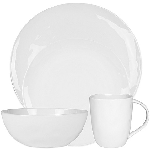 Everyday White® by Fitz and Floyd® Organic-Shaped Dinnerware Collection at Bed Bath & Beyond in Cypress, TX | Tuggl