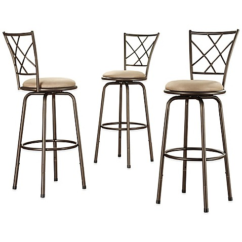 Buy Verona Home Fulton Adjustable Swivel Barstool Set Of