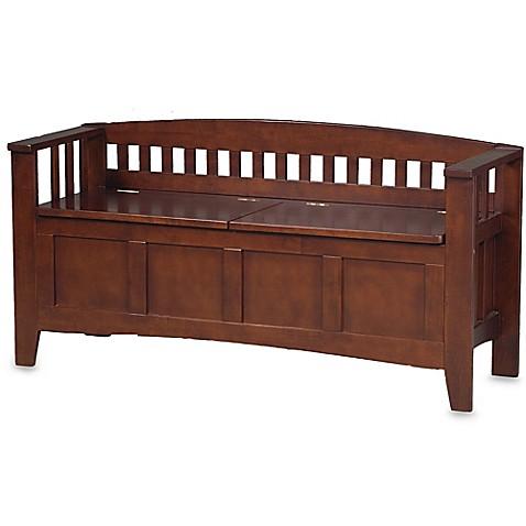 Wengate Split Seat Storage Bench Bed Bath Amp Beyond