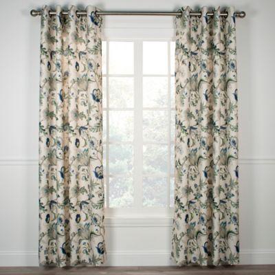 Brissac Grommet Window Curtain Panel Bed Bath Amp Beyond
