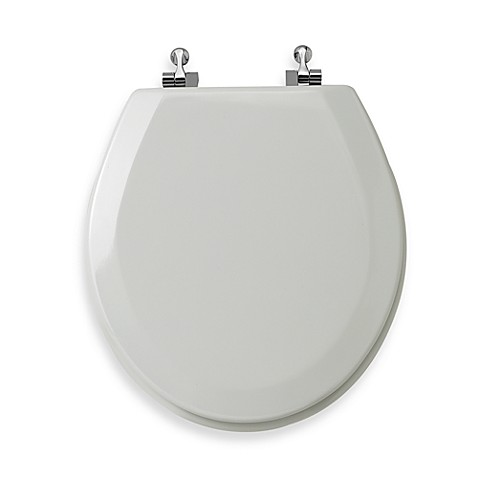 Buy Mayfair 174 Round White Molded Wood Toilet Seat With
