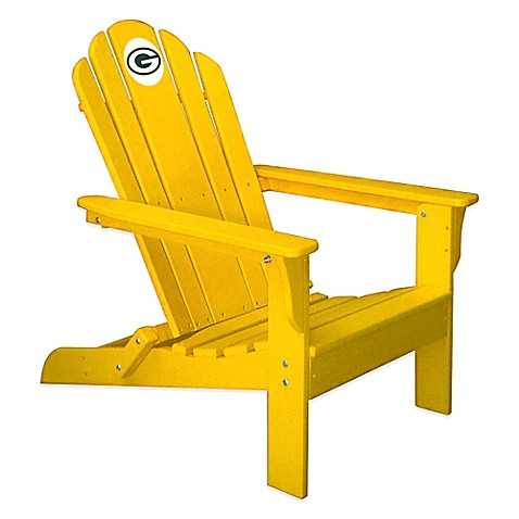 Buy Nfl Green Bay Packers Adirondack Chair In Yellow From