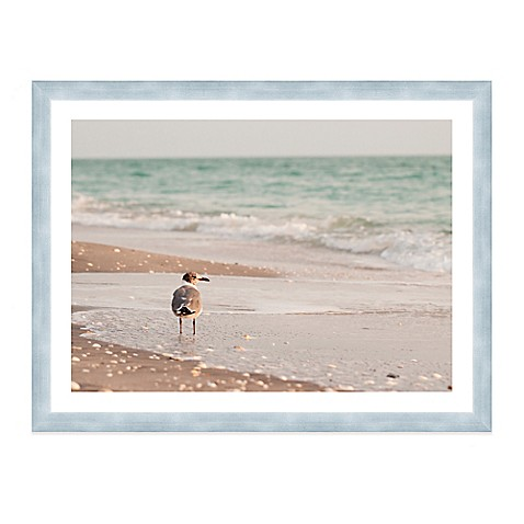 buy seagull standing in ocean on beach extra large. Black Bedroom Furniture Sets. Home Design Ideas