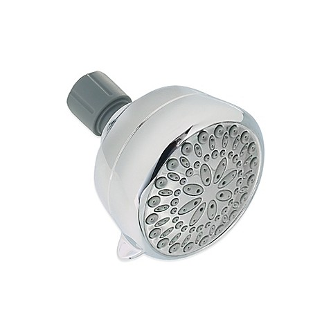 delta chrome 5 spray showerhead bed bath amp beyond buy rain shower head from bed bath amp beyond
