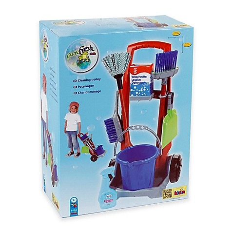 Theo Klein 8 Piece Cleaning Trolley Buybuy Baby