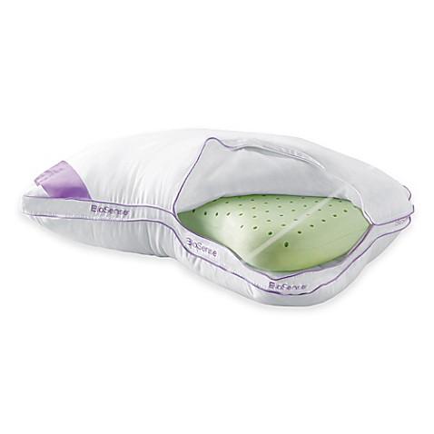 Brookstone 174 Biosense Memory Foam 2 In 1 Shoulder Pillow