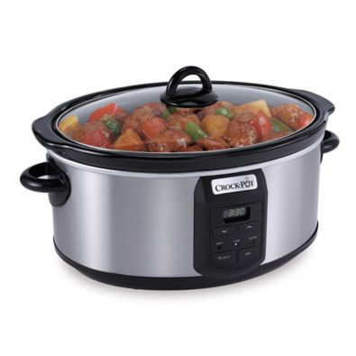 Crock-Pot® 7 qt. Slow Cooker with Little Dipper® Warmer - BedBathandBeyond.com