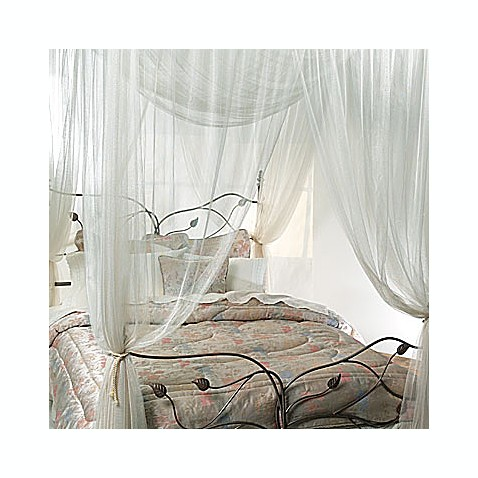 majesty ivory large bed canopy bed bath beyond