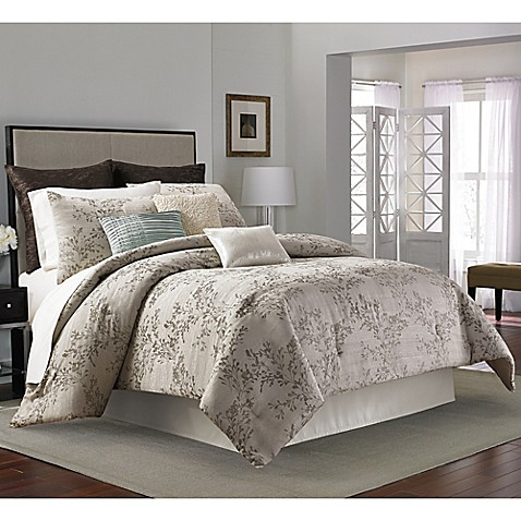 Manor hill serenade comforter set bed bath beyond - Bed bath and beyond bedroom furniture ...