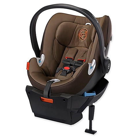 cybex platinum aton q infant car seat in coffee bean bed bath beyond. Black Bedroom Furniture Sets. Home Design Ideas