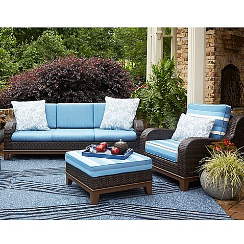 Scott Living Moorea Rattan Patio Furniture Collection Bed Bath Beyond