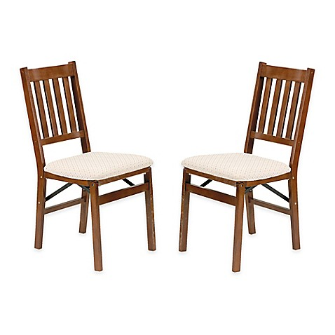 stakmore arts crafts wood folding chairs set of 2