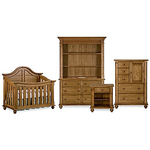Bassettbaby Premier Benbrooke Nursery Furniture Collection In Vintage Pine Buybuy Baby