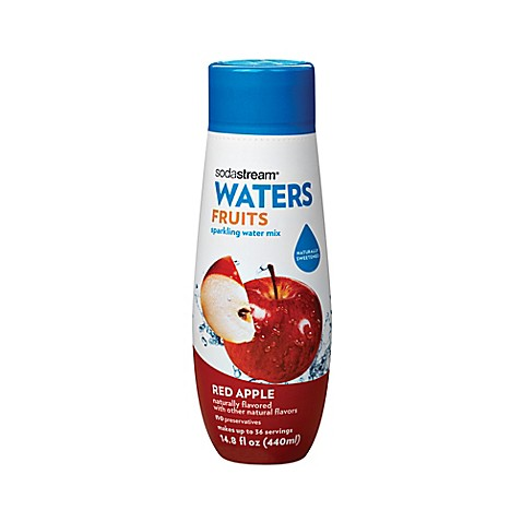 Sodastream 174 Water Fruits Red Apple Flavored Sparkling