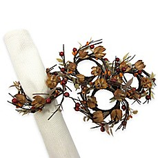 Bed Bath And Beyond Autumn Napkin Rings